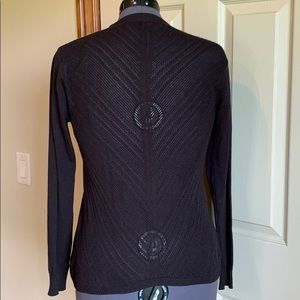 Black Cardigan by Maurice's. Medium.